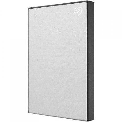 Външен твърд диск Seagate Backup Plus Slim, 2TB, STHN2000401, silver (снимка 1)