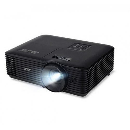 Дигитален проектор Acer Projector X1226AH, DLP, XGA (1024x768), 4000 ANSI Lm, 20000:1, HDMI, VGA, PC Audio, DC out(5V/1A USB Type A), RGB, RS232, 3D Ready, Speaker 3W, Bluelight Shield, LumiSense,ColorBoost3D, 2.8kg, Black (снимка 1)