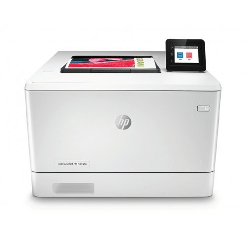 Принтер HP Color LaserJet Pro M454dw Printer (снимка 1)