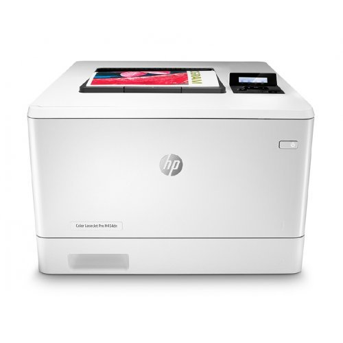 Принтер HP Color LaserJet Pro M454dn Printer (снимка 1)
