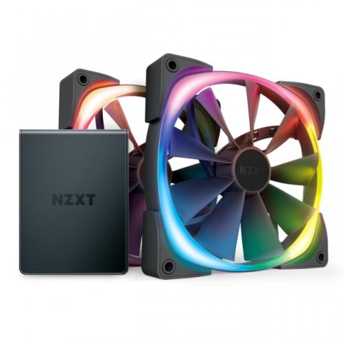 Охлаждане NZXT Aer RGB 2 Twin Starter 140 мм (снимка 1)