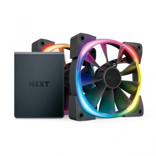 Охлаждане NZXT Aer RGB 2 Twin Starter 120мм (снимка 1)