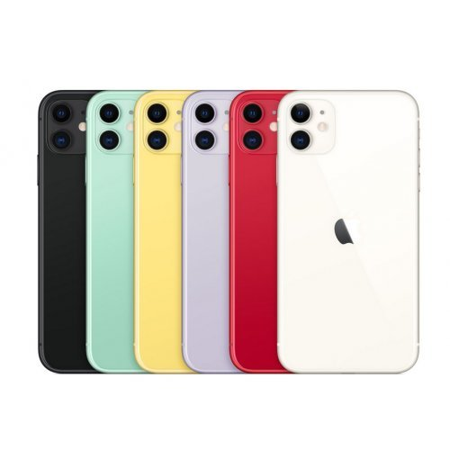 Смартфон Apple iPhone 11 128GB Black (снимка 1)
