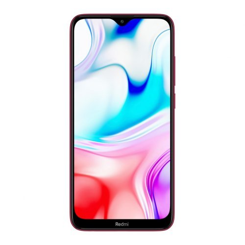 "Смартфон Xiaomi Redmi 8 3/32GB Dual SIM 6.22"" Ruby Red (снимка 1)"