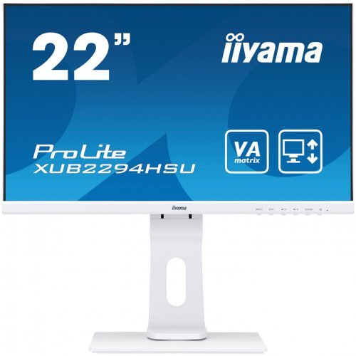"Монитор IIYAMA 21.5"" XUB2294HSU-W1 (снимка 1)"