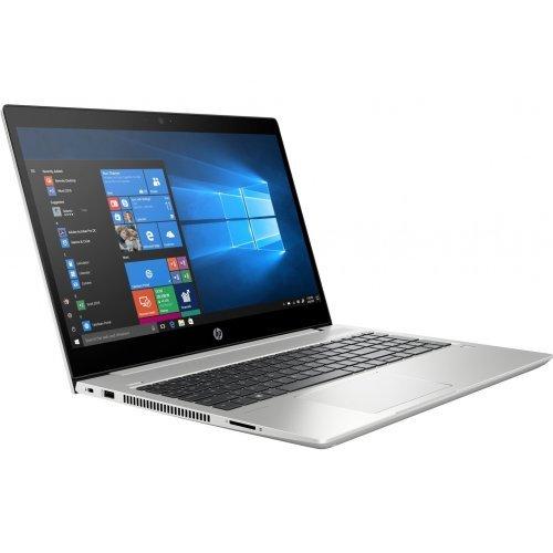 "Лаптоп HP ProBook 450 G6, сребрист, 15.6"" (39.62см.) 1920x1080 (Full HD) без отблясъци IPS, Процесор Intel Core i5-8265U (4x/8x), Видео Intel UHD 620, 8GB DDR4 RAM, 512GB SSD диск, без опт. у-во, DOS ОС (снимка 1)"