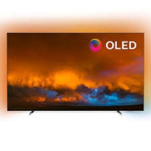 """Телевизор Philips 55""""OLED, 4K UHD Android TV 3-sided Ambilight, Индекс на качеството на образа 5000, HDR 10+/WCG 99%, Видео процесор P5 Perfect Picture, DVB-T/T2/T2-HD/C/S/S2 (снимка 1)"""