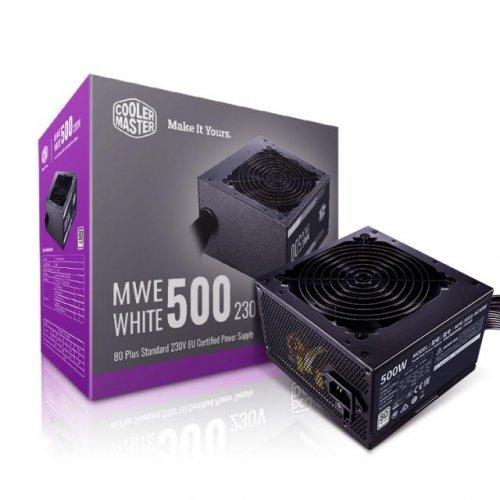 Захранващ блок Cooler Master MWE White 230V V2 500W (снимка 1)