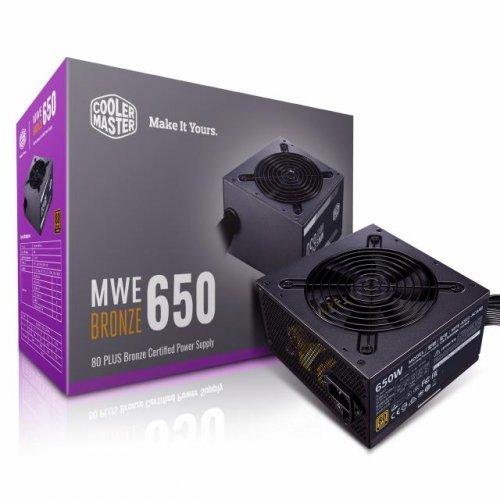 Захранващ блок Cooler Master MWE V2 Bronze 650 (снимка 1)