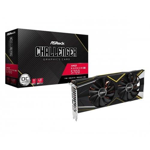 Видео карта AMD ASROCK Radeon RX 5700 Challenger D 8GB OC GDDR6 256bit 1xHDMI /3xDP Retail (снимка 1)