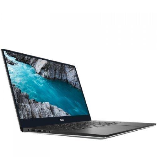 """Лаптоп Dell XPS 15 7590, сив и черен отвътре, 15.6"""" (39.62см.) 1920x1080 (Full HD) без отблясъци 60Hz, Процесор Intel Core i7-9750H (6x/12x), Видео nVidia GeForce GTX 1650/ 4GB GDDR5, 4GB DDR4 RAM, 512GB SSD диск, без опт. у-во, Windows 10 Pro 64 ОС (снимка 1)"""