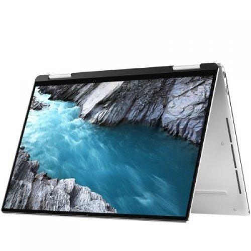 """Лаптоп Dell XPS 13 2in1 7390, сив и черен отвътре, 13.4"""" (34.04см.) 3840x2160 (4K Ultra HD) 60Hz, Процесор Intel Core i7-1065G7 (4x/8x), Видео Intel Iris Plus Gen 11, 16GB LPDDR4 RAM, 512GB SSD диск, без опт. у-во, Windows 10 Pro 64 ОС (снимка 1)"""