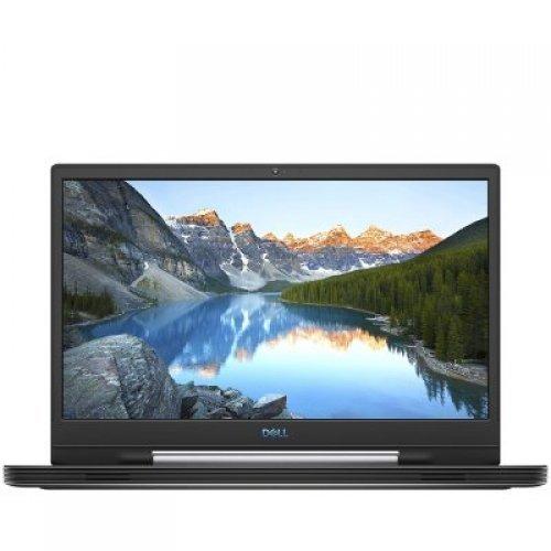 """Лаптоп Dell G7 17 7790, черен, 17.3"""" (43.94см.) 1920x1080 (Full HD) без отблясъци, Процесор Intel Core i7-9750H (6x/12x), Видео nVidia GeForce RTX 2070/ 8GB GDDR6, 16GB DDR4 RAM, 512GB SSD диск, без опт. у-во, Windows 10 ОС, Клавиатура- светеща (снимка 1)"""