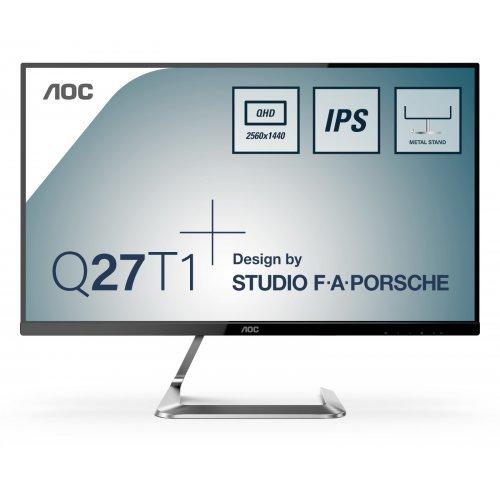 """Монитор AOC 27"""" Q27T1 Design by Studio F. A. Porsche (снимка 1)"""