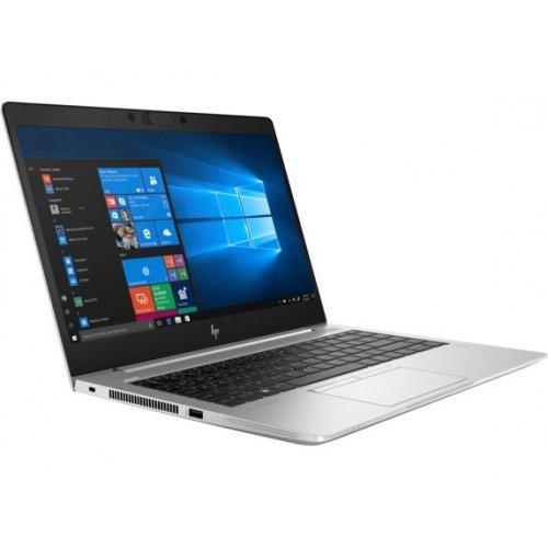 "Лаптоп HP EliteBook 745 G6, сребрист, 14.0"" (35.56см.) 1920x1080 (Full HD) без отблясъци, Процесор AMD Ryzen 7 Pro 3700U (4x/8x), Видео AMD Radeon Vega, 16GB DDR4 RAM, 512GB SSD диск, без опт. у-во, Windows 10 Pro 64 ОС, Клавиатура- светеща с БДС (снимка 1)"