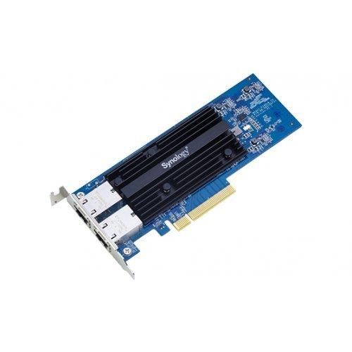Мрежова карта Synology 10 Gigabit dual RJ45 port PCI Express x4 adapter for Synology NAS servers (снимка 1)