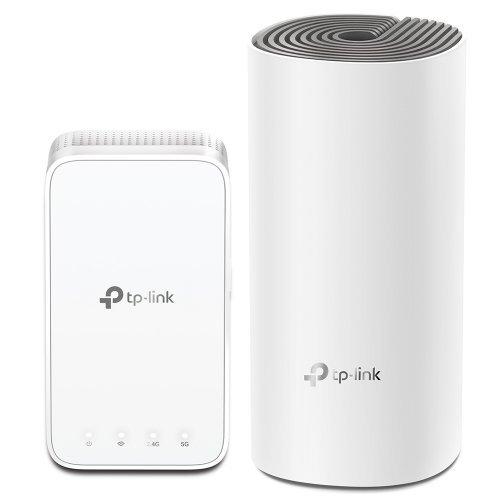 Безжичен рутер TP-Link Deco E3(2-pack) AC1200, Безжична Wi-fi система (снимка 1)