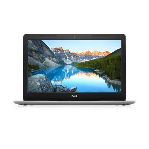 "Лаптоп Dell Inspiron 3593, Intel Core i7-1065G7 (8MB Cache, up to 3.9 GHz), 15.6"" FHD (1920x1080) AG, HD Cam, 8GB DDR4 2666MHz, 256GB M.2 PCIe NVMe SSD, DVD+/-RW, NVIDIA GeForce MX230 2GB GDDR5 , 802.11ac, BT, Linux, Silver, с БДС (снимка 1)"
