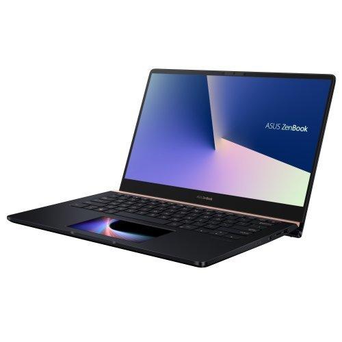 """Лаптоп Asus ZenBook PRO14 UX480FD-BE032T, син, 14.0"""" (35.56см.) 1920x1080 (Full HD) лъскав, Процесор Intel Core i5-8265U (4x/8x), Видео nVidia GeForce GTX 1050/ 4GB GDDR5, 8GB DDR4 RAM, 512GB SSD диск, без опт. у-во, Windows 10 64 ОС, Клавиатура- светеща с БДС (снимка 1)"""