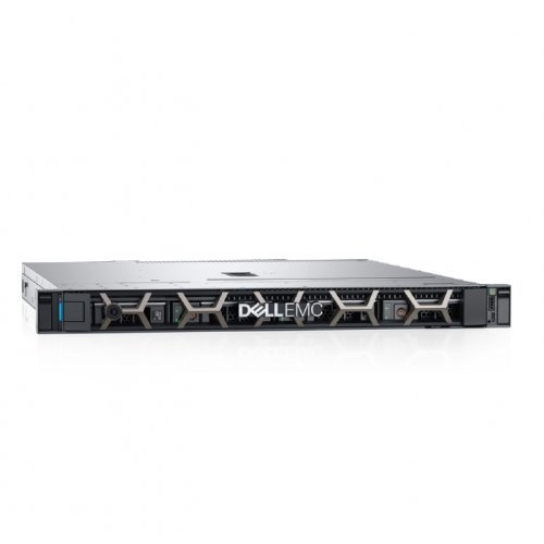 "Сървър Dell PowerEdge R240, Intel Xeon E-2124 (3.3GHz, 8M, 4C/4T), 16GB 2666 DDR4 ECC UDIMM, 2 x 2TB NLSAS, PERC H330, iDrac9 Basic, 3.5"" Chassis with up to 4 Hot Plug Hard Drives, 3Yr NBD (снимка 1)"