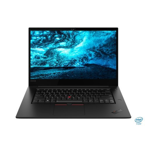 "Лаптоп Lenovo ThinkPad X1 Extreme (2nd Gen),Intel Core i7-9750H(2.6GHz up to 4.5GHz,12MB),32(2х16)GB DDR4,1TB SSD PCIe NVMe,15.6"" HDR 400 UHD(3840x2160) IPS 500nits antiglare,GTX 1650 4GB,SC reader,Wireless AC,USB Type-C,HDMI,FPR,BT5.0,LIT keyboard,720p, с БДС (снимка 1)"