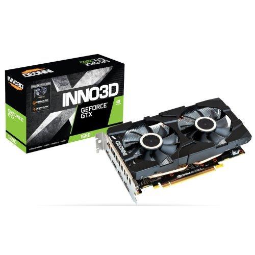 Видео карта nVidia Inno3D GeForce GTX 1660 Twin X2 (снимка 1)