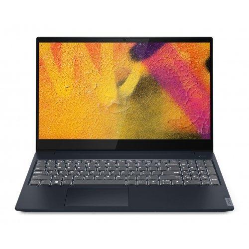 "Лаптоп Lenovo IdeaPad S340-15API, син, 15.6"" (39.62см.) 1920x1080 (Full HD) без отблясъци TN, Процесор AMD Ryzen 5 3500U (4x/8x), Видео AMD Radeon Vega 8, 8GB DDR4 RAM, 256GB SSD диск, без опт. у-во, без ОС, Клавиатура- с БДС (снимка 1)"