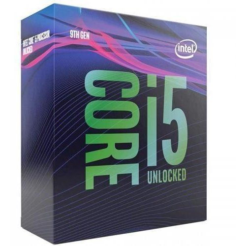 Процесор Intel Coffee Lake Core i5-9600KF (6c/6t), LGA1151 (300 Series), Box, no Cooler, no VGA, 3.7- 4.6GHz, 9MB L3 Cashe, TDP 95W, 14nm (снимка 1)