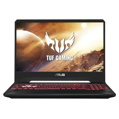 "Лаптоп Asus TUF FX505DD-BQ067, AMD Ryzen 7-3750H 2.3GHz (6M cache, up to 4.0GHz),15.6"" FHD IPS AG (1920x1080), 8GB DDR4 2666MHz (1 slot free),PCIE NVME 512G M.2 SSD, NVIDIA GeForce GTX1050 3GB GDDR5, 802.11ac, BT 4.1, RGB Kbd, no OS, Black, с БДС (снимка 1)"
