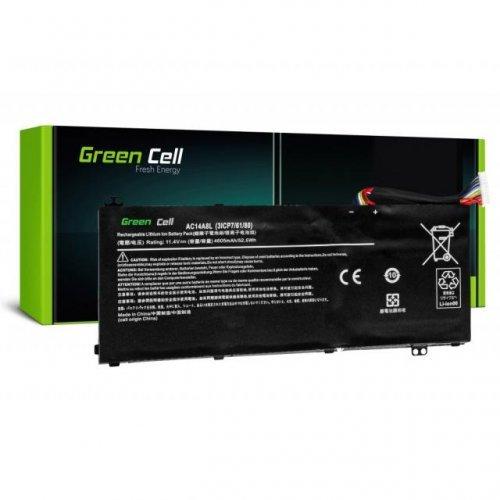 Батерия за лаптоп GREEN CELL Acer Aspire Nitro V15 VN7-571G VN7-572G VN7-591G VN7-592G i V17 VN7-791G VN7-792G AC14A8L 11.4V 4605mAh (снимка 1)