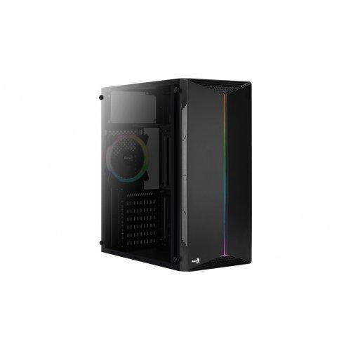 Компютърна кутия Aerocool Split RGB със стъкло SPLIT-A-BK-V1 (снимка 1)