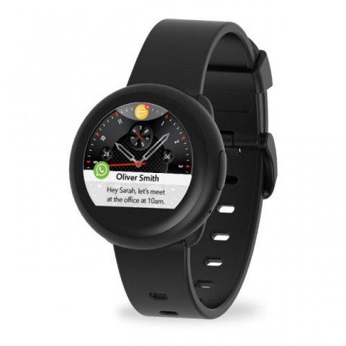 Ръчен часовник MyKronoz ZeRound3 Lite, Смарт часовник, кръгла форма, черен (снимка 1)