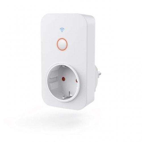 HAMA 176565, WiFi, 3680W, 16A, Смарт контакт, измерване на сумарна енергийна консумация (снимка 1)