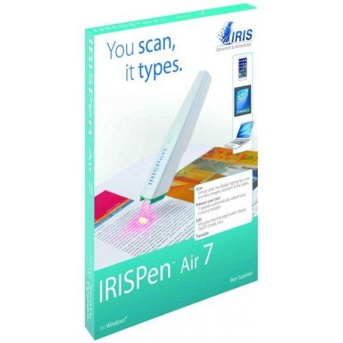 Скенер Iris IRISPen Air 7, Преносим скенер-писалка, LiIon батерия, Bluetooth, сканира,чете и превежда от 40 езика (снимка 1)