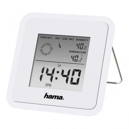 HAMA TH-50 113988, Цифров термометър/хигрометър, Бял (снимка 1)