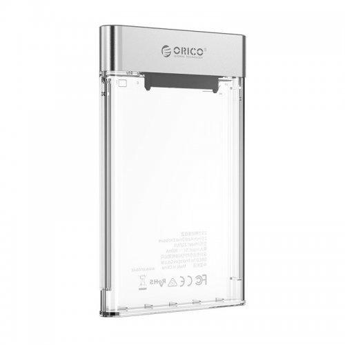 Кутия за диск Orico външна кутия за диск Storage - Case - 2.5 inch USB3.0, UASP, black - 2129U3-CR (снимка 1)