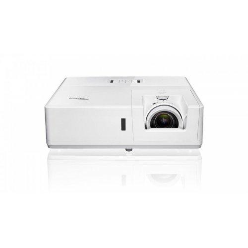 Дигитален проектор Optoma ZU606TSTe Мултимедиен лазерен късофокусен проектор, White, доставка 2 седмици (снимка 1)