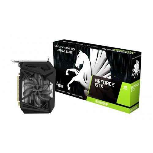 Видео карта nVidia Gainward GeForce GTX 1650 SUPER Pegasus, nVidia GTX1650 SUPER, 4 GDDR6, 128bit, 1x HDMI v2.0/ DisplayPort DP/ DVI-D (снимка 1)