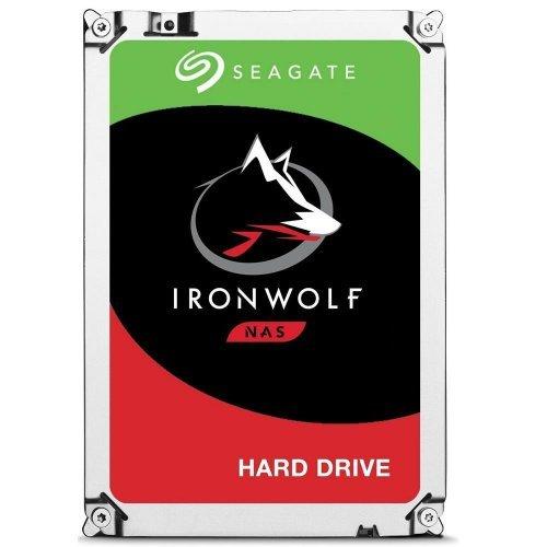 Твърд диск Seagate 8TB, IronWolf NAS ST8000VN004, SATA3, 7200rpm (снимка 1)