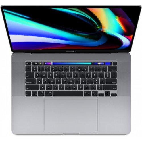"Лаптоп Apple MacBook Pro 16 Touch Bar, сив, 16.0"" (40.64см.) 3072x1920, Процесор Intel Core i9, Видео AMD Radeon Pro 5500M, 16GB DDR4 RAM, 1TB SSD диск, без опт. у-во, MacOS X Catalina ОС (снимка 1)"