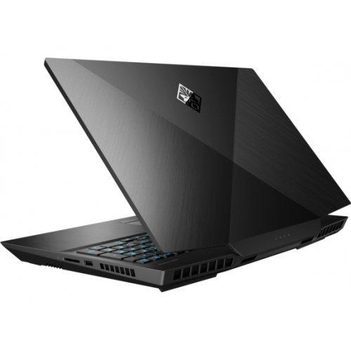 """Лаптоп HP OMEN 17-cb0011nu, черен, 17.3"""" (43.94см.) 1920x1080 (Full HD) без отблясъци IPS, Процесор Intel Core i7-9750H (6x/12x), Видео nVidia GeForce RTX 2060/ 6GB GDDR6, 8GB DDR4 RAM, 512GB SSD диск, без опт. у-во, DOS ОС (снимка 1)"""