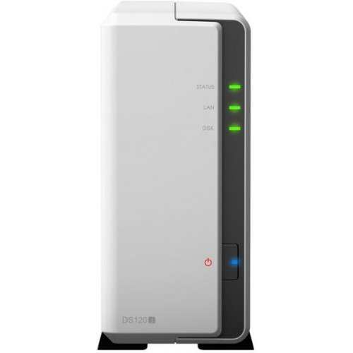 NAS устройство Synology DS120J, 1-bay NAS Server for Home and Small office (снимка 1)