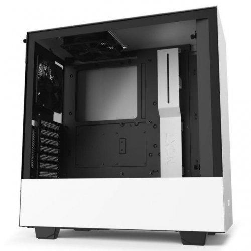 Компютърна кутия NZXT H510i Matte White/Black (снимка 1)