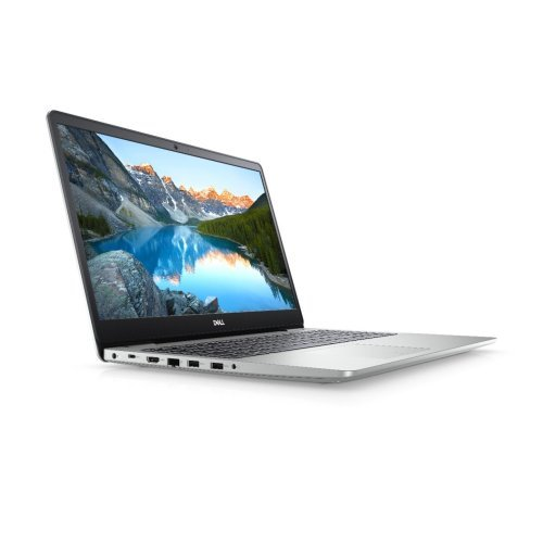 "Лаптоп Dell Inspiron 5593, сребрист, 15.6"" (39.62см.) 1920x1080 (Full HD) без отблясъци, Процесор Intel Core i5-1035G1 (4x/8x), Видео nVidia GeForce MX230/ 2GB GDDR5, 8GB DDR4 RAM, 512GB SSD диск, без опт. у-во, Linux Ubuntu 18.04 ОС, Клавиатура- светеща (снимка 1)"