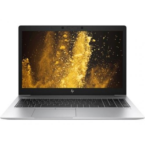 "Лаптоп HP EliteBook 850 G6, сребрист, 15.6"" (39.62см.) 1920x1080 (Full HD) без отблясъци IPS, Процесор Intel Core i5-8265U (4x/8x), Видео Intel UHD 620, 8GB DDR4 RAM, 256GB SSD диск, без опт. у-во, Windows 10 Pro 64 ОС, Клавиатура- светеща (снимка 1)"
