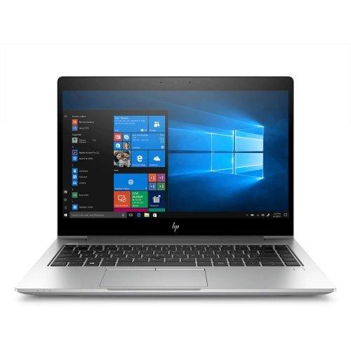 """Лаптоп HP EliteBook 840 G6, сребрист, 14.0"""" (35.56см.) 1920x1080 (Full HD) IPS, Процесор Intel Core i5-8265U (4x/8x), Видео Intel UHD 620, 8GB DDR4 RAM, 256GB SSD диск, без опт. у-во, DOS ОС, Клавиатура- с БДС (снимка 1)"""