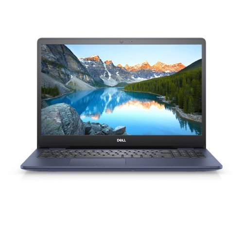 """Лаптоп Dell Inspiron 5593, Intel Core i7-1065G7 (8MB Cache, up to 3.9 GHz), 15.6"""" FHD (1920x1080) AG Narrow Border, HD Cam, 16GB 2666MHz DDR4, 512GB M.2 PCIe NVMe Solid State Drive, Intel Iris Plus Graphics, 802.11ac, BT, Backlit KBD, Linux, Midnight Blue (снимка 1)"""