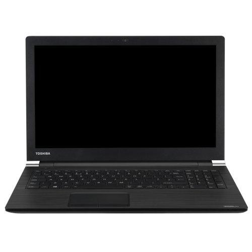 """Лаптоп Toshiba Dynabook Satellite Pro A50-E-1QU, черен, 15.6"""" (39.62см.) 1920x1080 (Full HD) без отблясъци, Процесор Intel Core i7-8565U (4x/8x), Видео Intel UHD 620, 8GB DDR4 RAM, 512GB SSD диск, DVDRW, Windows 10 Pro 64 ОС (снимка 1)"""