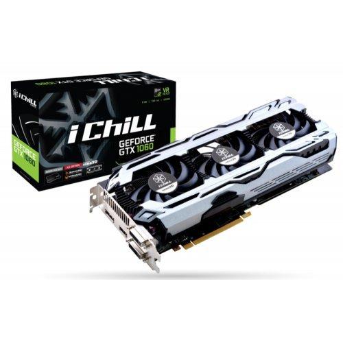 Видео карта nVidia Inno3D iChill GeForce GTX 1060 X3 (снимка 1)
