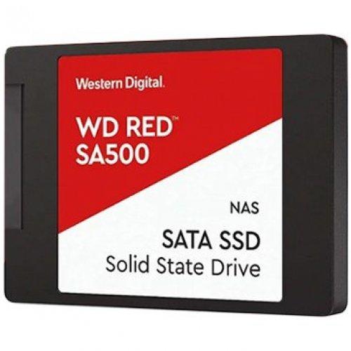 """SSD Western Digital 1TB, Red, 2.5"""", SATA III 6 Gb/s (снимка 1)"""
